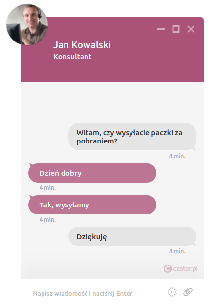 Darmowy live chat